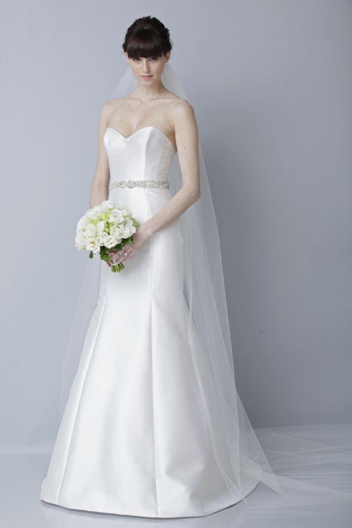2013 wedding dress by Theia bridal gowns sweetheart mermaid