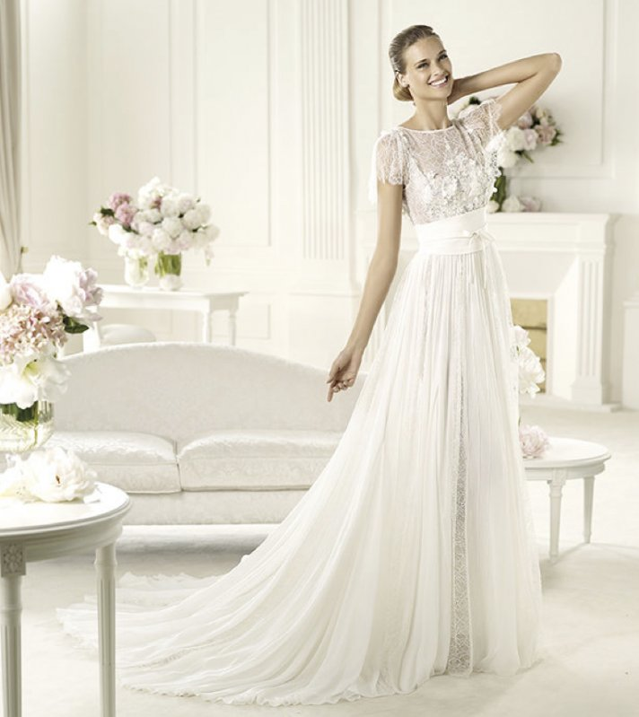 2013 wedding dress Elie Saab bridal collection for Pronovias Lorraine 2