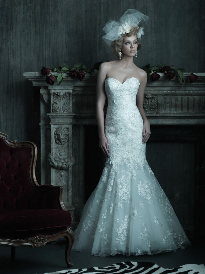 2013 wedding dress Allure Couture bridal gowns c205