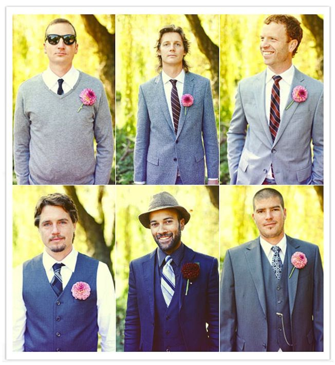 wedding fashion guide for groomsmen mix and match style 4