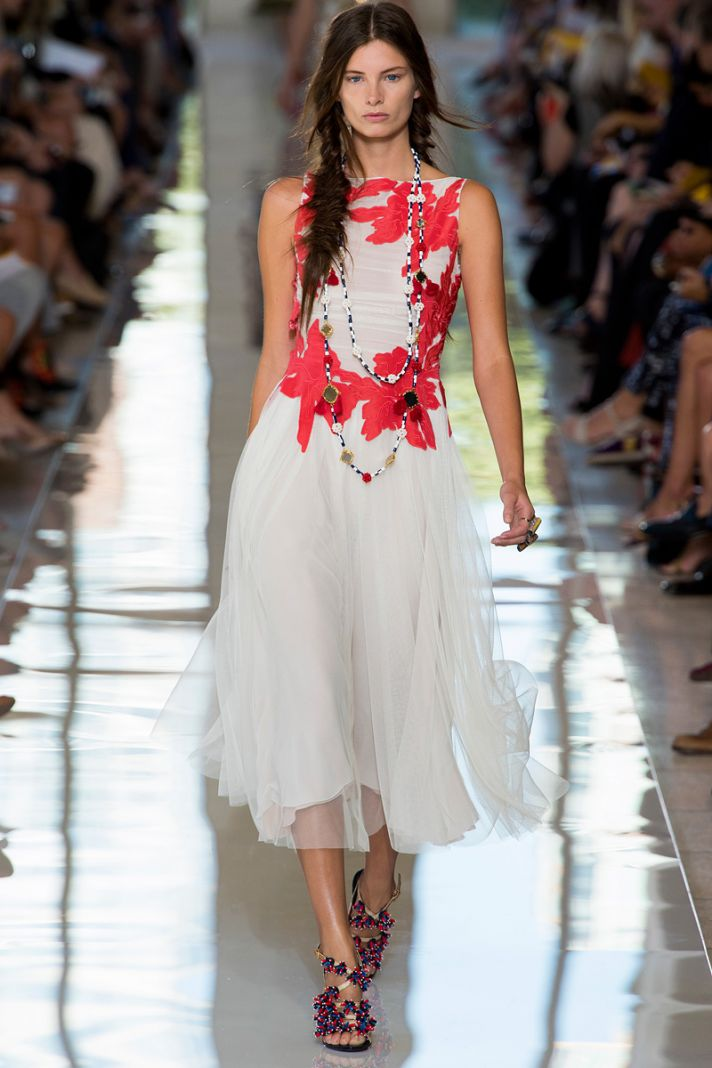 catwalk to white aisle wedding style inspiration for brides New York Fashion Week tory burch
