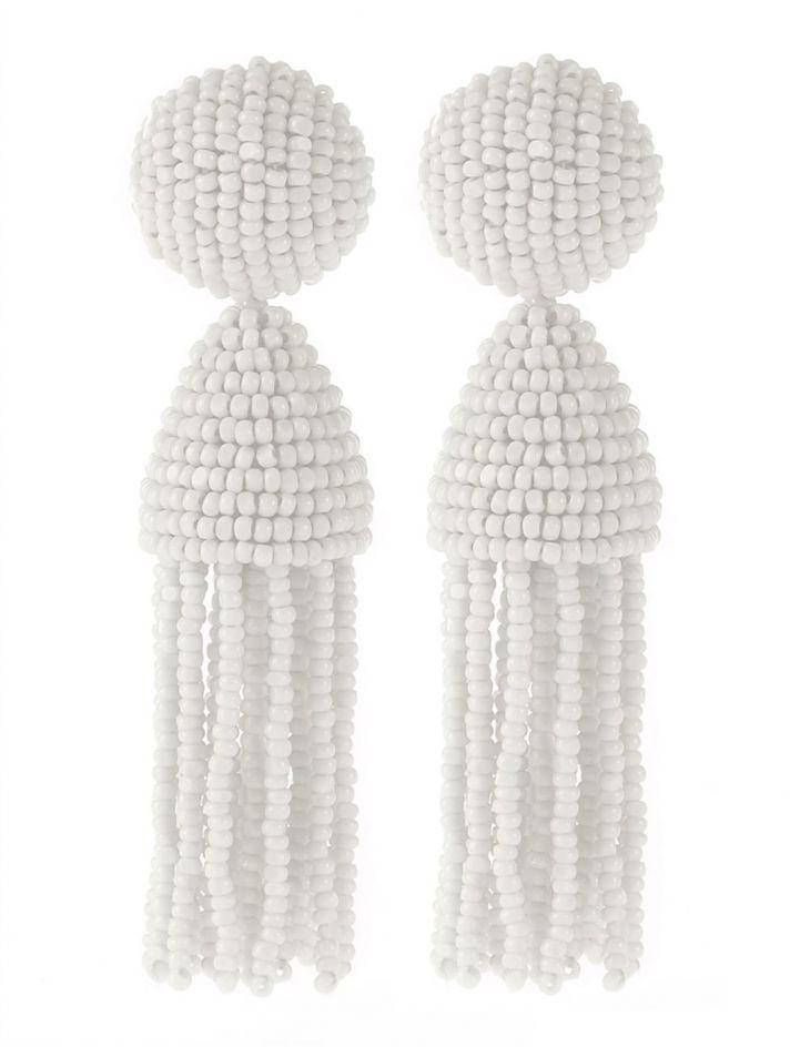 oscar de la renta bridal accessories wedding earrings