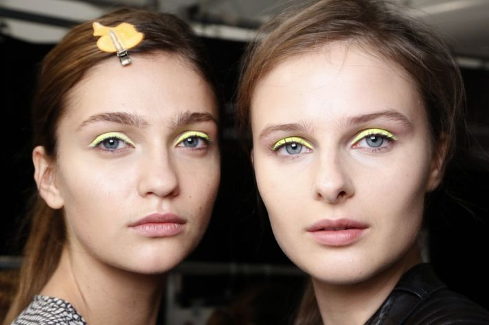 neon eyes bridal beauty inspiration