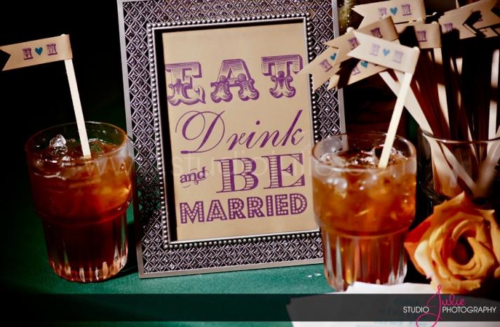 handmade wedding stationery decor using kraft paper Etsy weddings bar sign