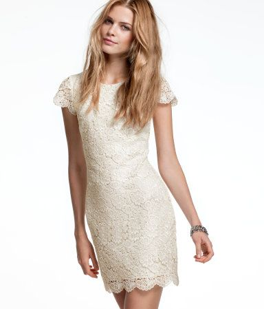 Short, Sweet And Lacy, This Gorgeous Minidress Could Be Dressed Way Up With  Some Snazzy Heels Or Kept Adorably Simple With Flats Or Sandals.