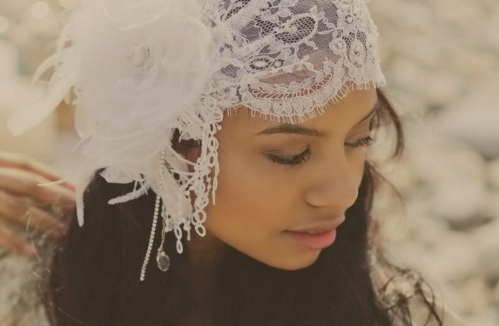 weddings by style Parisian romance wedding decor inspiration lace cap