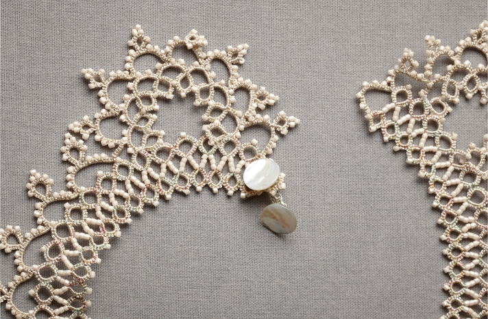 wedding necklace BHLDN bridal jewelry vintage inspired accessories 4