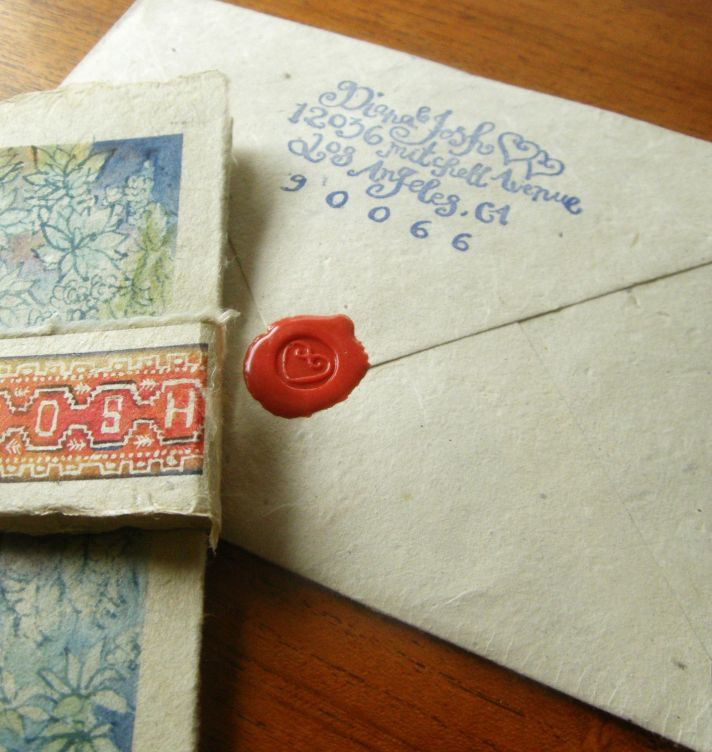 5 easy ways to personalize the wedding DIY weddings calligraphy stamp elegant