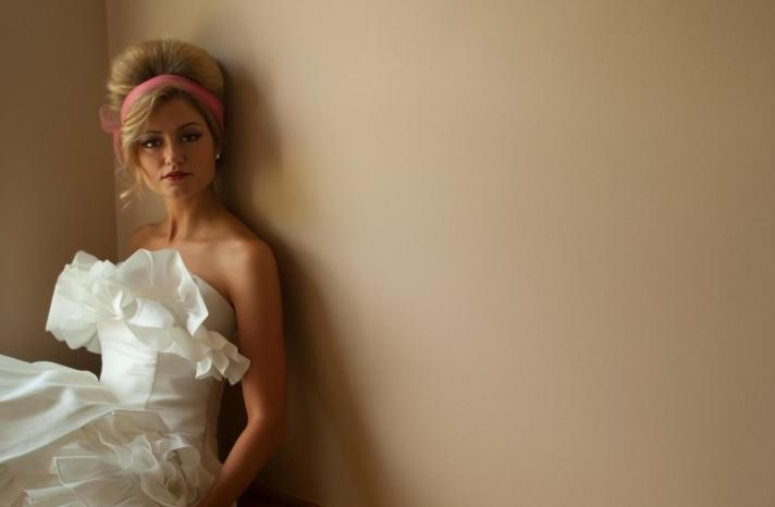 retro wedding treasures for vintage brides tea length wedding dress