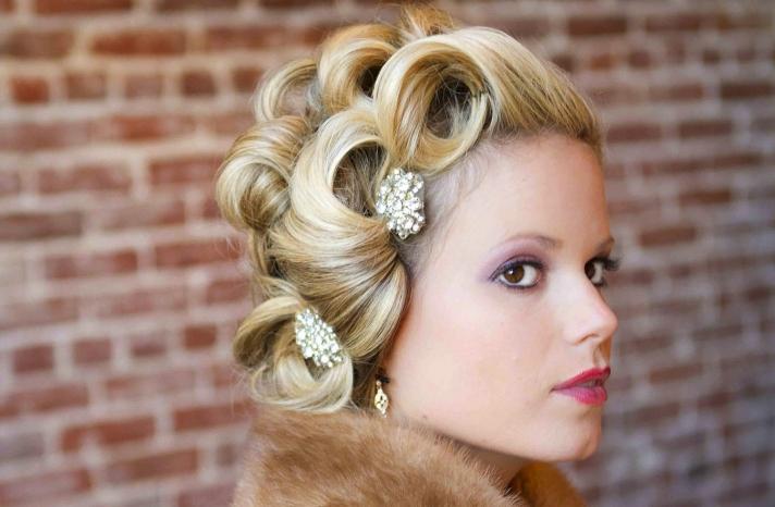 bejeweled bride wedding accessories vintage hair pins