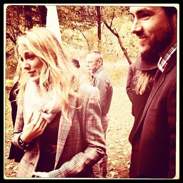 real wedding amber tamblyn david cross upstate new york instagram blake lively 1