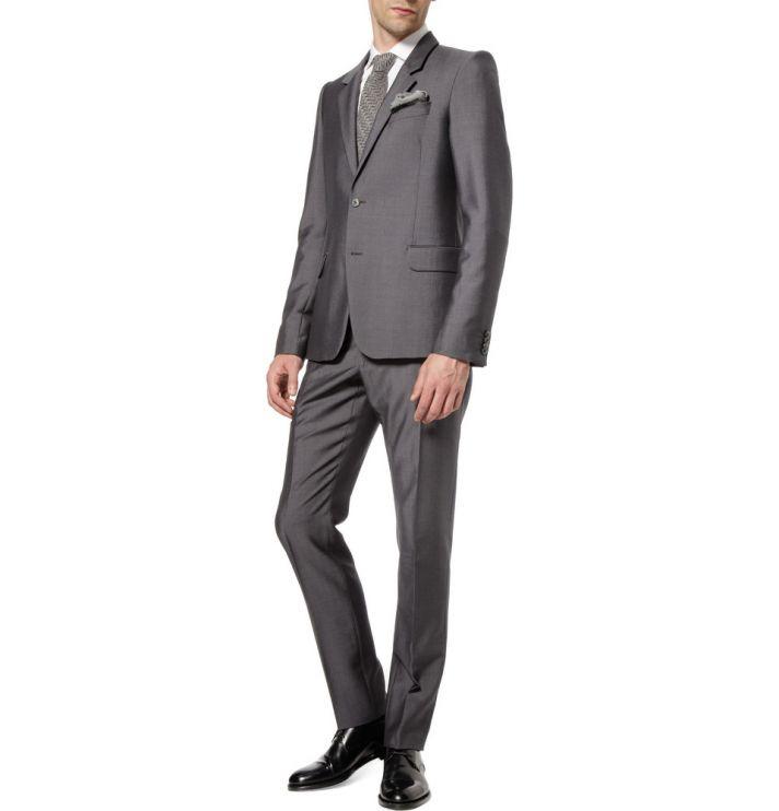 wedding tuxedo alternatives for modern grooms Alexander McQueen silver