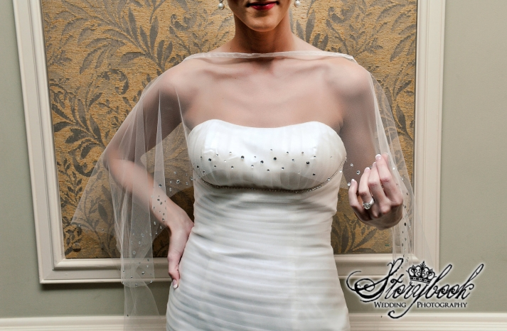beautiful bridal boleros to top a simple wedding dress sheer cape with crystals
