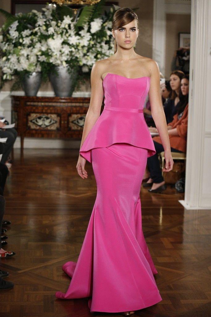 Spring 2013 bridal market bridesmaid dresses by Romona Keveza 11 pink