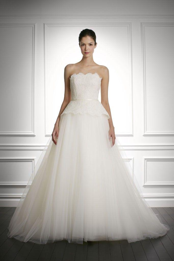 fall 2013 wedding dress Carolina Herrera bridal gowns 10
