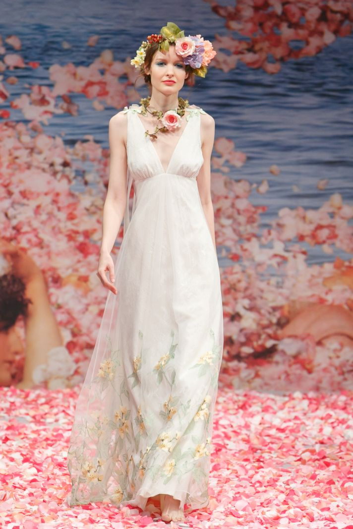 Claire Pettibone\'s New Wedding Dress Collection Is Paradise On Earth