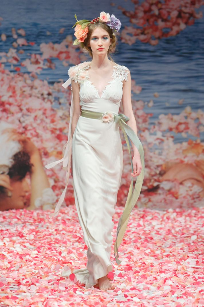 2013 wedding dress by Claire Pettibone An Earthly Paradise bridal collection Maiden