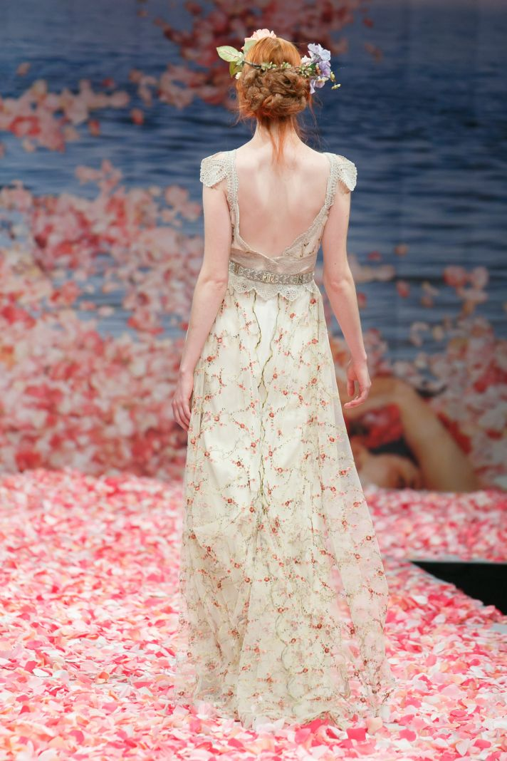 2013 wedding dress by Claire Pettibone An Earthly Paradise bridal collection Oleander