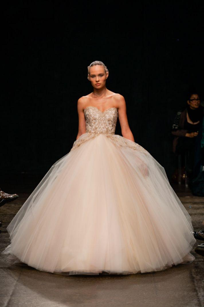 Spring 2013 wedding dress Lazaro bridal gowns 3315