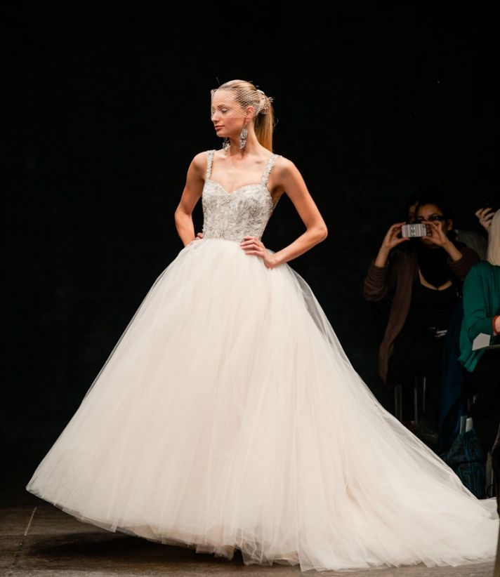 Wedding Gowns By Lazaro: Celebrity Story On The Spot: Drop In Love With Spring