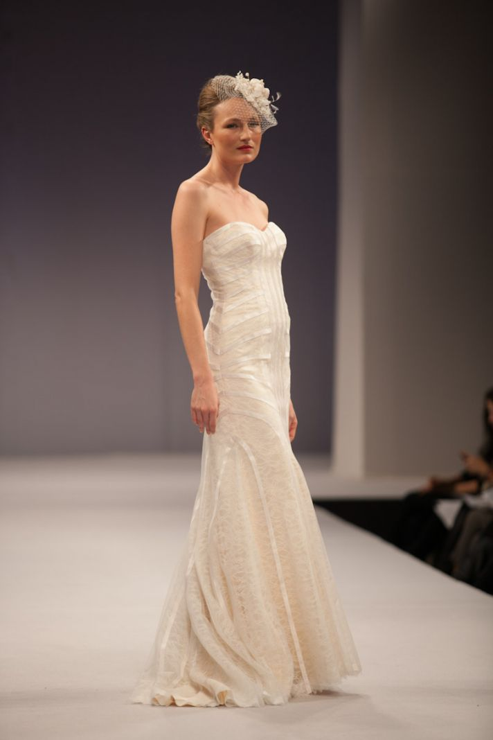 Anne Barge wedding dress Fall 2013 bridal Claudine