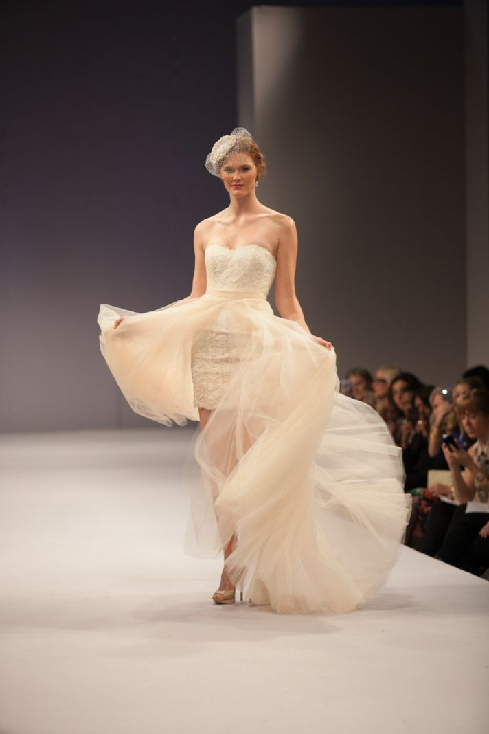 Anne Barge wedding dress Fall 2013 bridal Sylvie