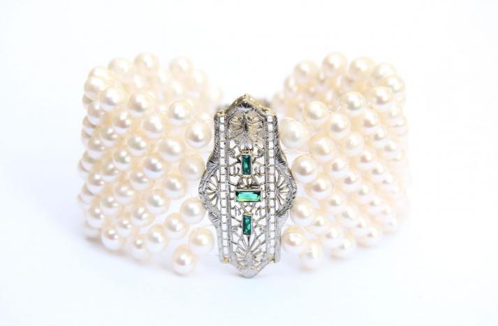 bridal cuff bracelet handmade wedding accessories 6