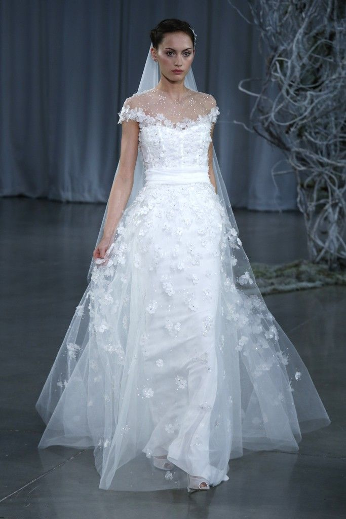 Fall 2013 wedding dress Monique Lhuillier bridal gowns Angelic