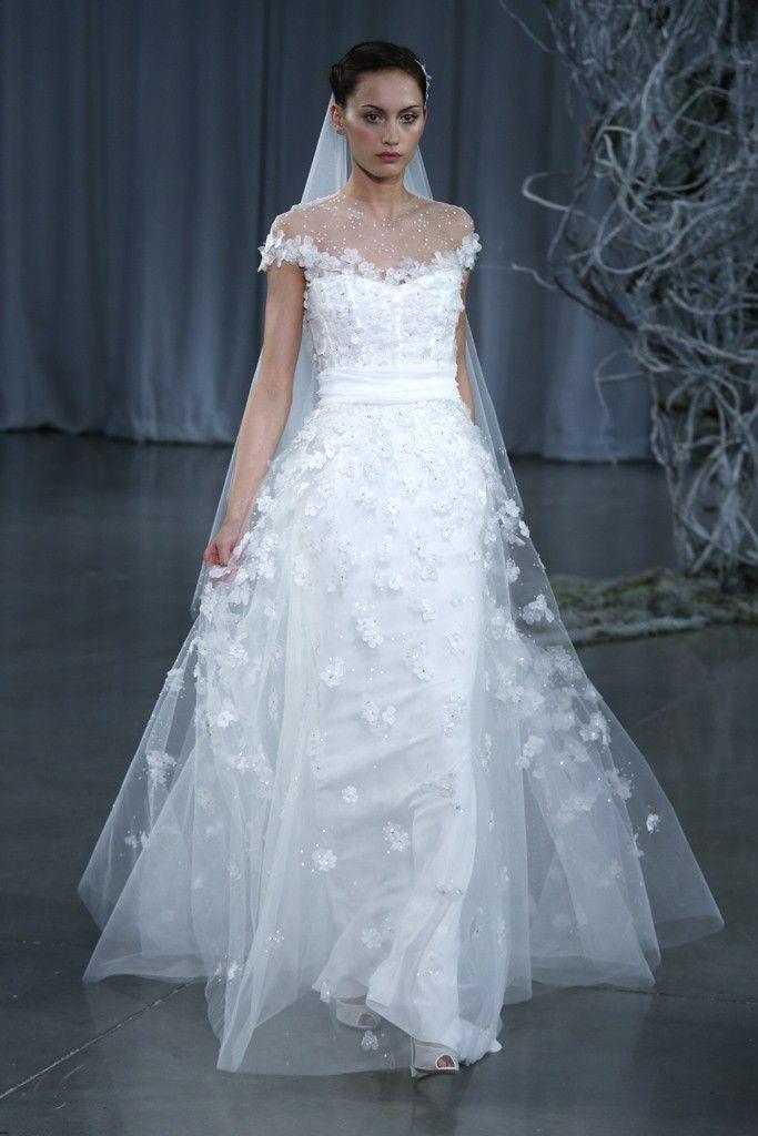 Fall 2013 wedding dress Monique Lhuillier bridal gowns Angelic