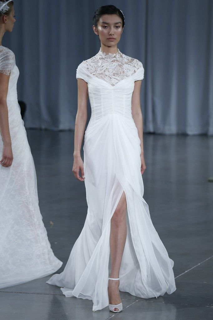 Fall 2013 wedding dress Monique Lhuillier bridal gowns Joelle