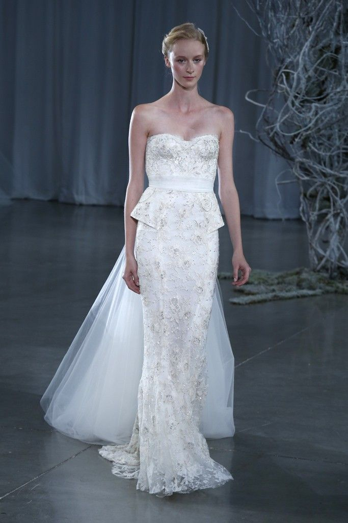 Fall 2013 wedding dress Monique Lhuillier bridal gowns Opulence