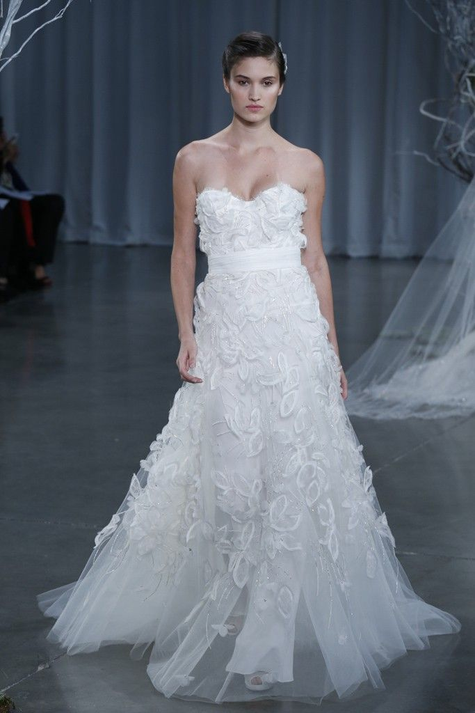 Fall 2013 wedding dress Monique Lhuillier bridal gowns Devine