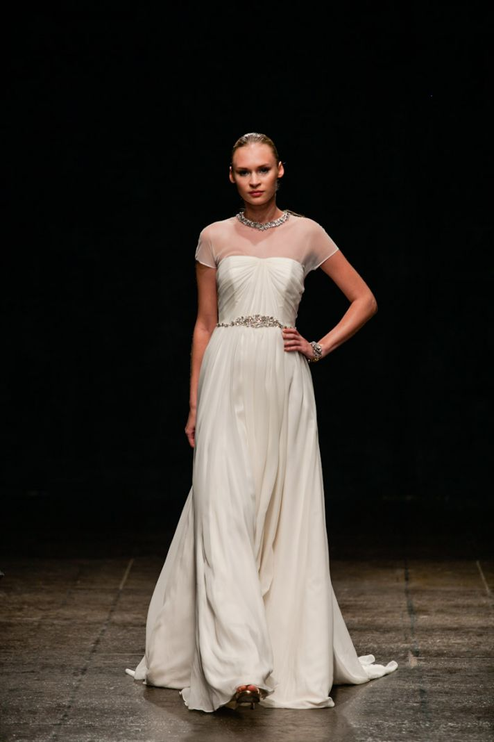 Fall 2013 Wedding Dress Hayley Paige bridal gowns Style 6300