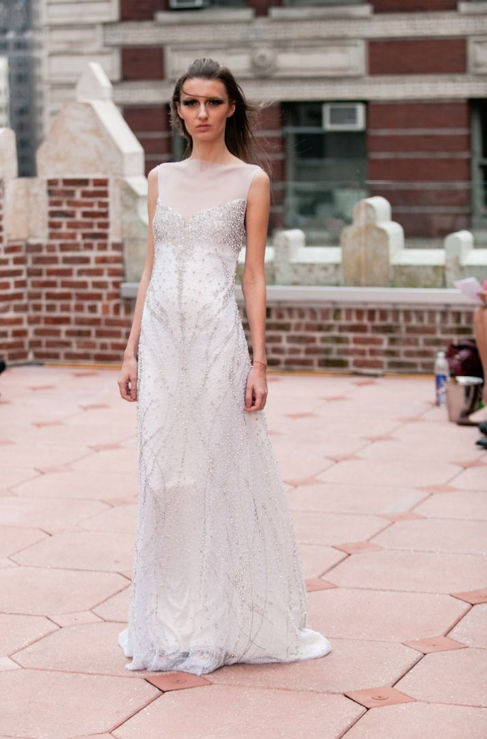 Fall 2013 wedding dress Anne Bowen bridal gowns Morgann 3