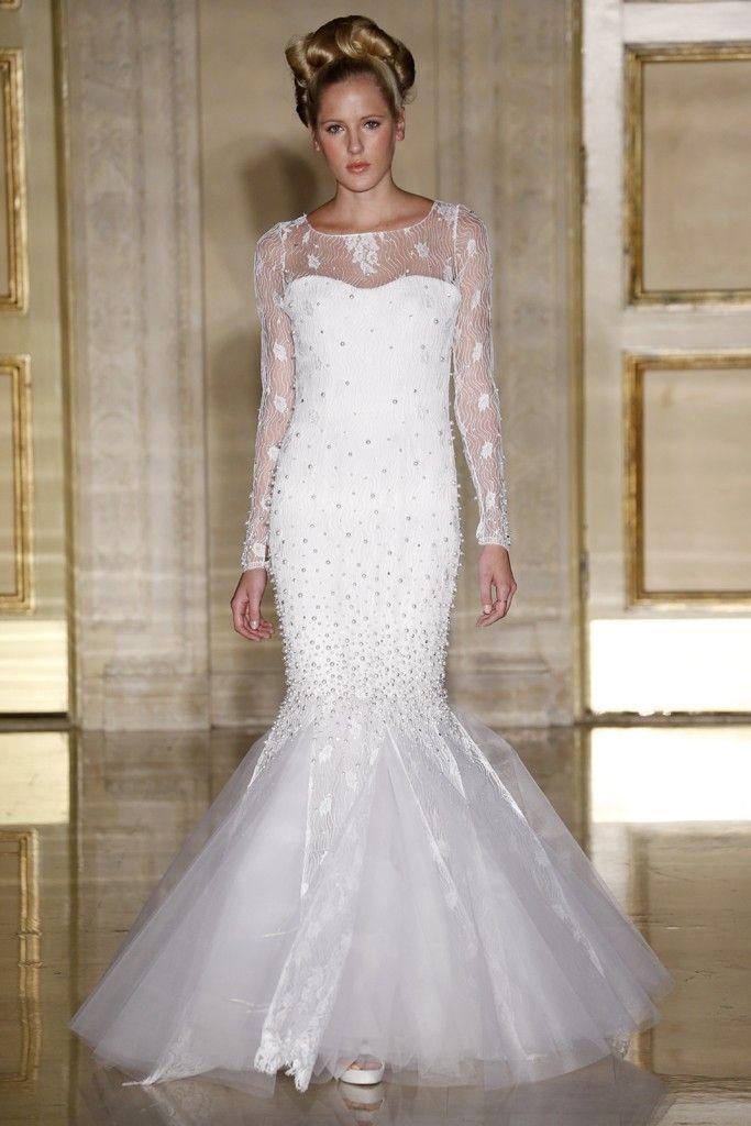 Fall 2013 wedding dress Douglas Hannant bridal gowns 10