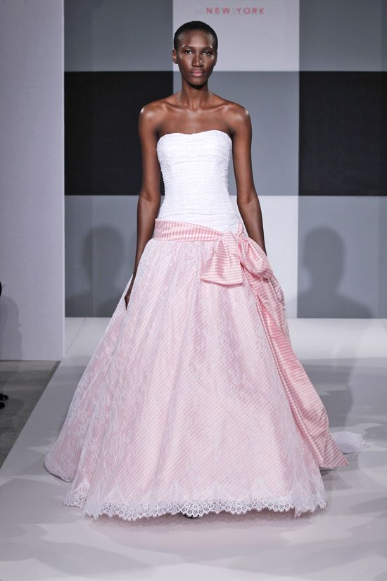 Spring 2013 wedding dress Isaac Mizrahi Spring 2013 bridal 14