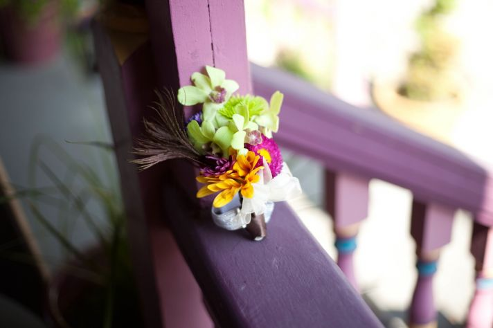 Beach Wedding in Delaware tropical grooms bout