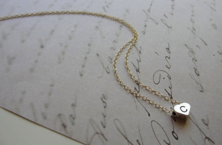 Unique Wedding Gifts for Bridesmaids Initial Jewelry Accessories 14