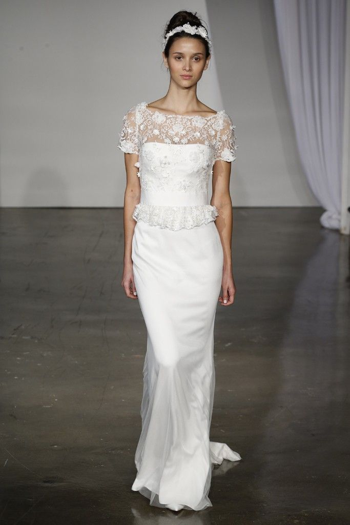 Fall 2013 wedding dress Marchesa bridal 10