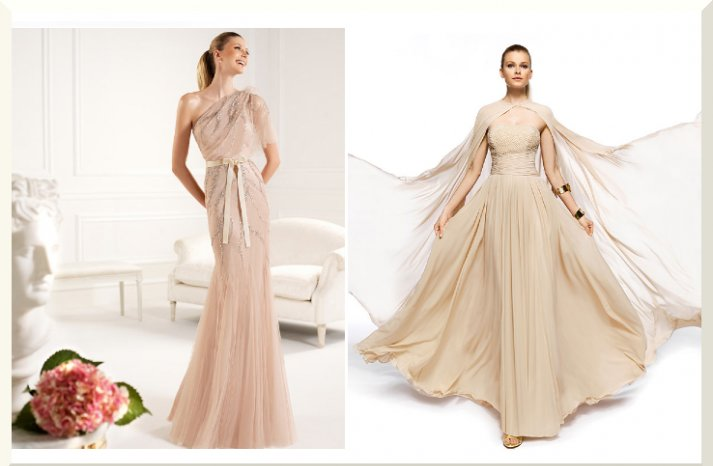 Bridesmaids Dresses for the Fashion Forward Wedding Party Pronovias 2013 12