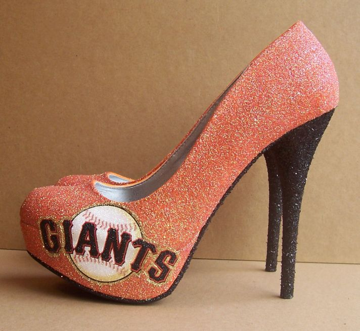Funky Wedding Shoes for Sports Loving Brides 1