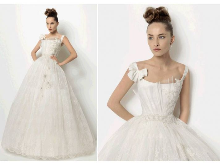 2011 corset wedding dress ball gown whimsical full