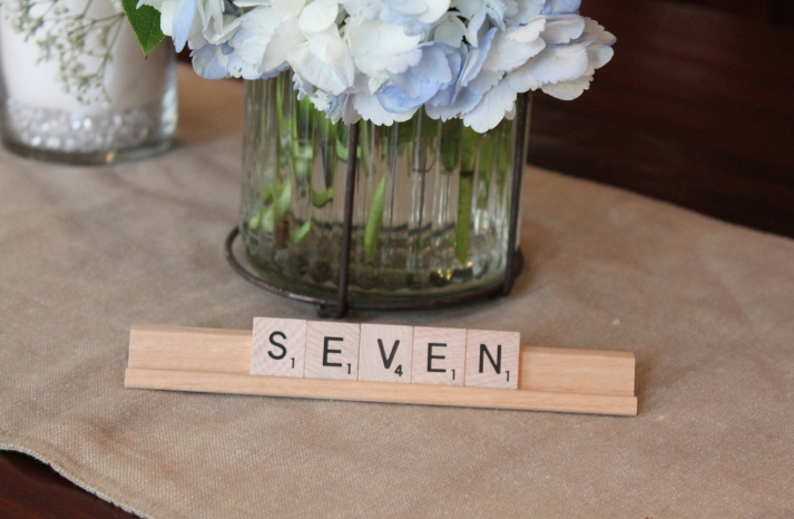 Unique Wedding Reception Table Numbers Handmade Weddings 22