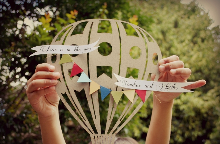 Handmade Wedding Finds Laser Cut custom gift