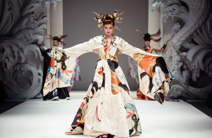 Traditional Bridal Kimono for Cultural Weddings