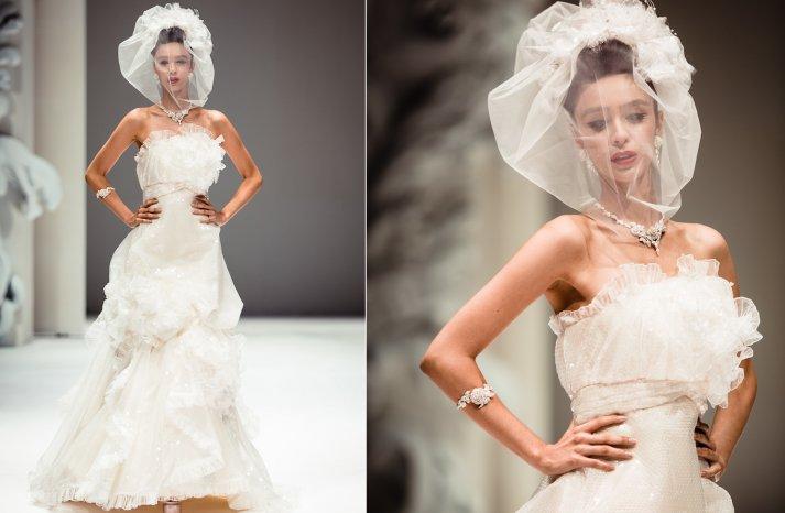 Strapless Couture Wedding Dress by Yumi Katsura Fall 2013