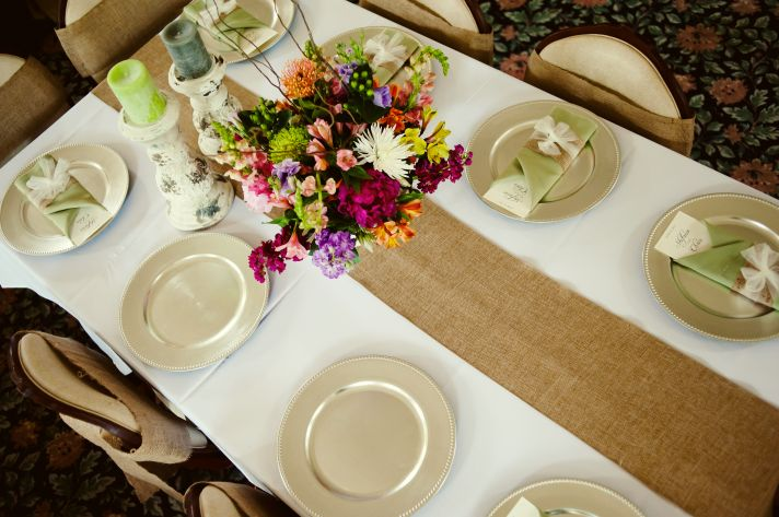 Rustic Elegant Summer Wedding Decor Details