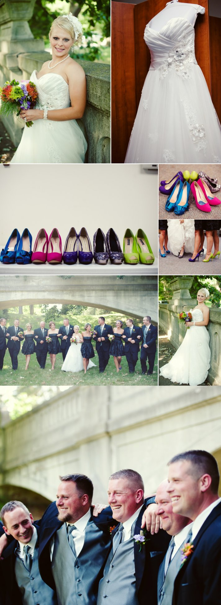 Summer Wedding in Indiana Classic and Colorful