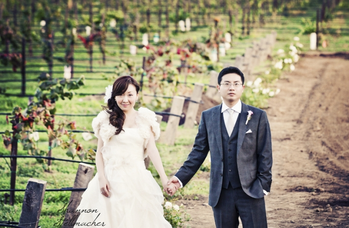 Romantic Winery Wedding in California