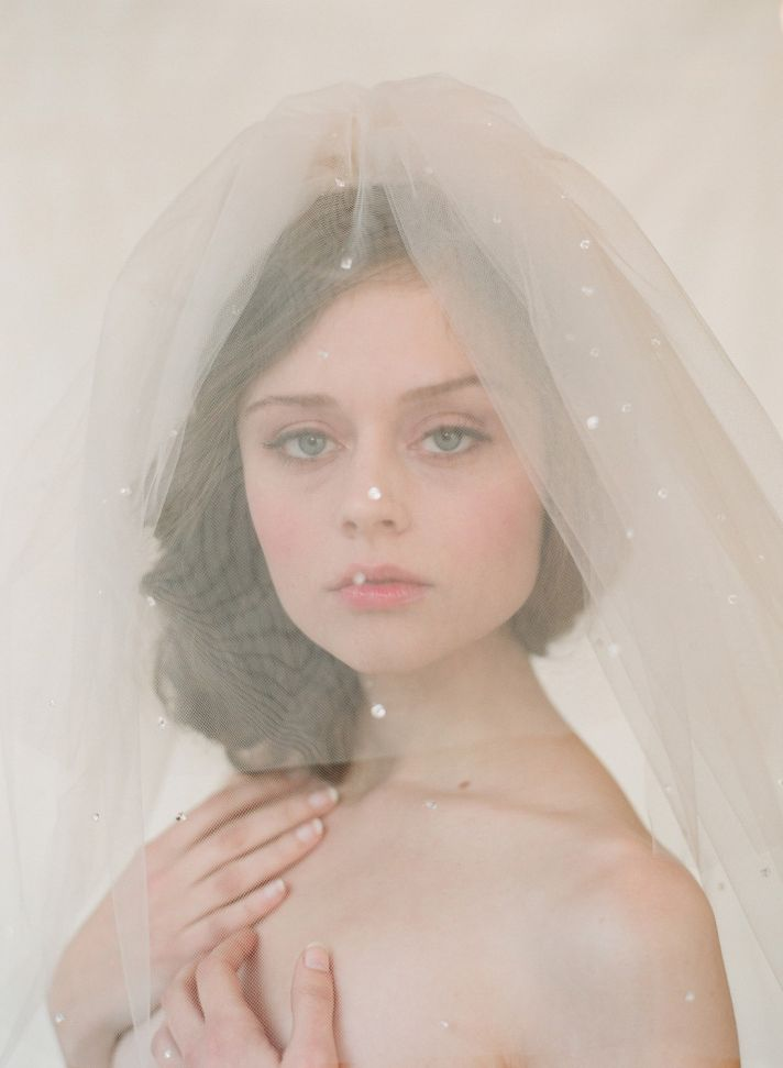 New Twist on the Classic Bridal Veil